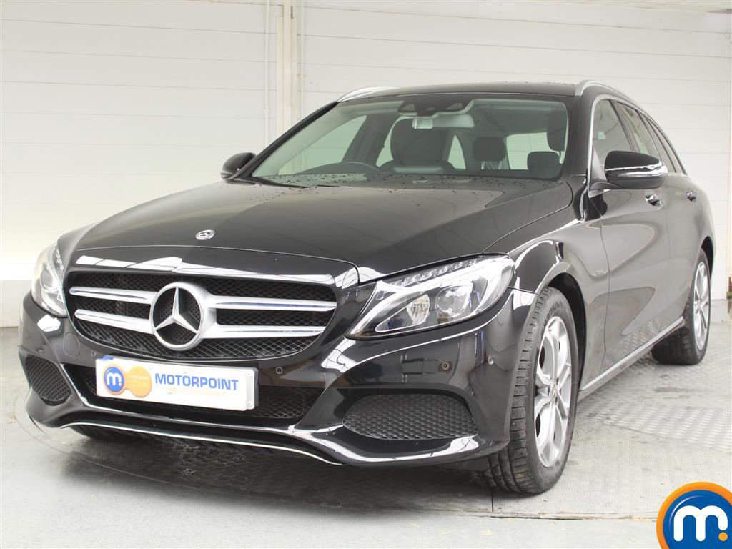 Mercedes-Benz C Class Sport - Stock Number (1039426) - Passenger side front corner
