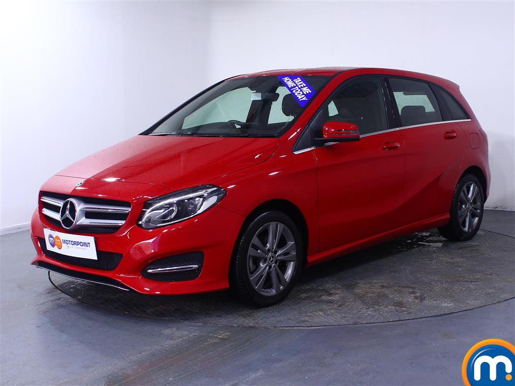 Mercedes-Benz B Class Exclusive Edition - Stock Number 1041440 Passenger side front corner