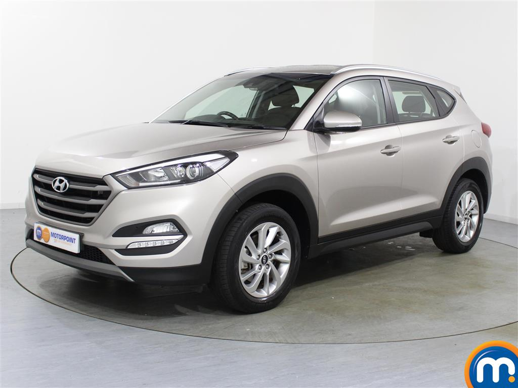 Hyundai Tucson SE - Stock Number (1038219) - Passenger side front corner
