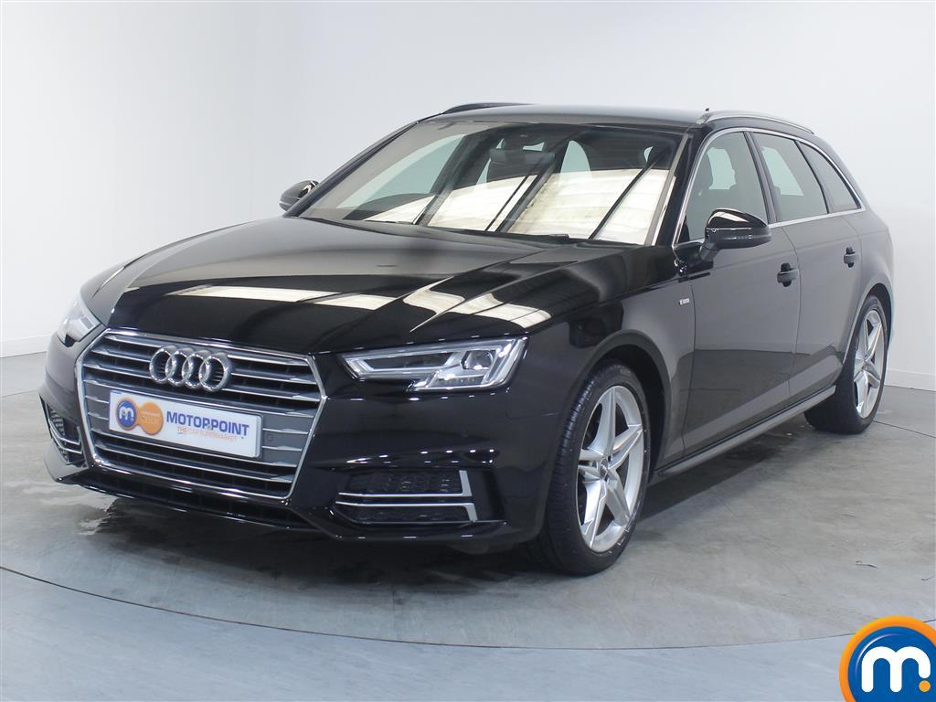 Audi A4 S Line - Stock Number (1039410) - Passenger side front corner