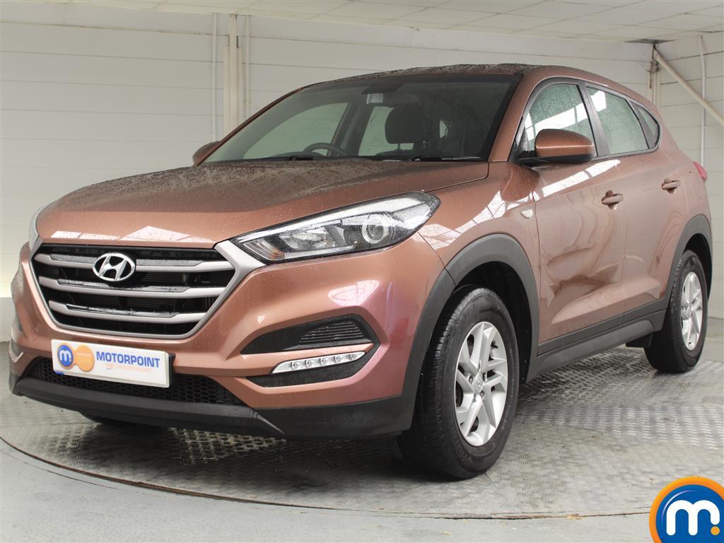 Hyundai Tucson S - Stock Number (1042130) - Passenger side front corner