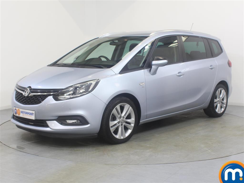 Vauxhall Zafira SRi - Stock Number 1031115 Passenger side front corner