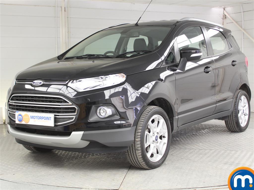 Ford Ecosport Titanium - Stock Number (1044907) - Passenger side front corner