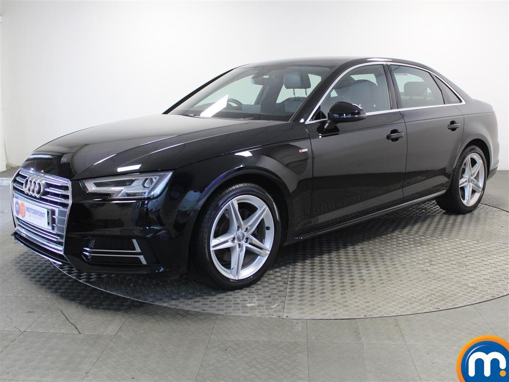 Audi A4 S Line - Stock Number (1038459) - Passenger side front corner