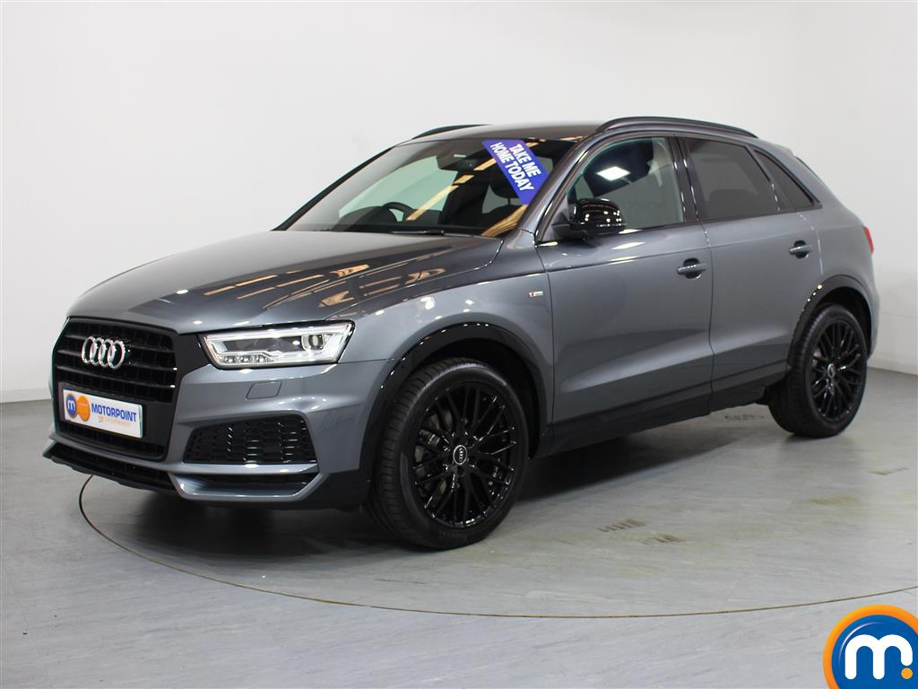 Audi Q3 Black Edition - Stock Number (1040600) - Passenger side front corner