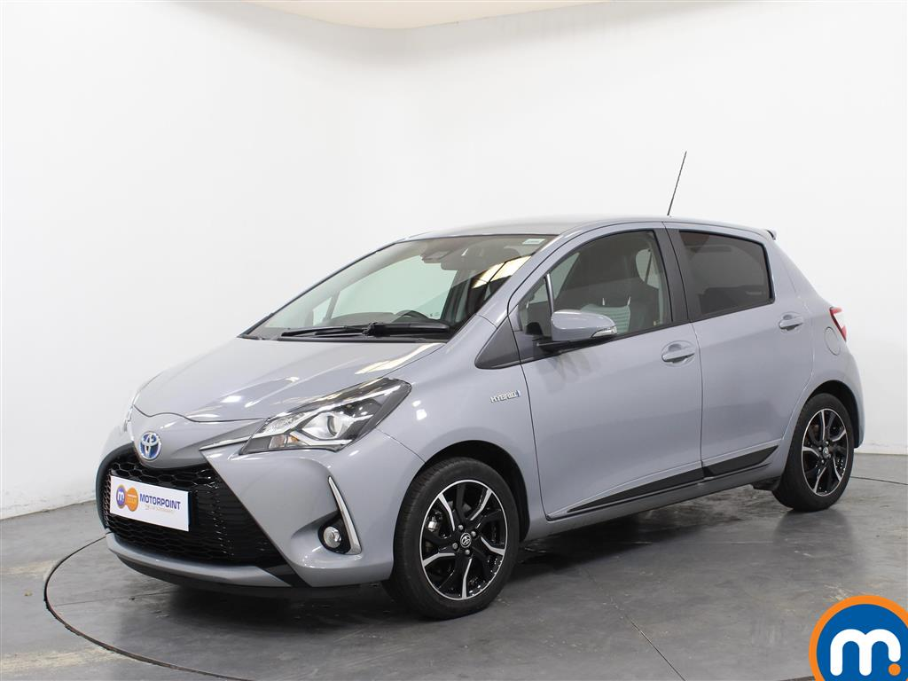Toyota Yaris Design - Stock Number 1042203 Passenger side front corner