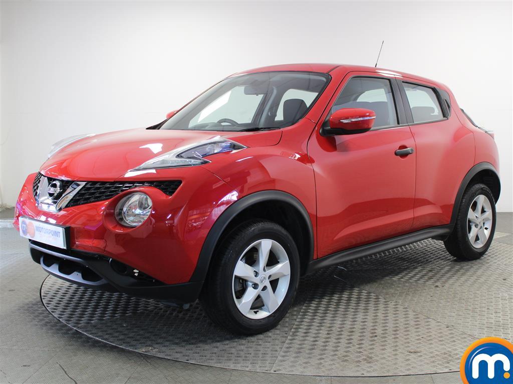 Nissan Juke Visia - Stock Number 1038785 Passenger side front corner