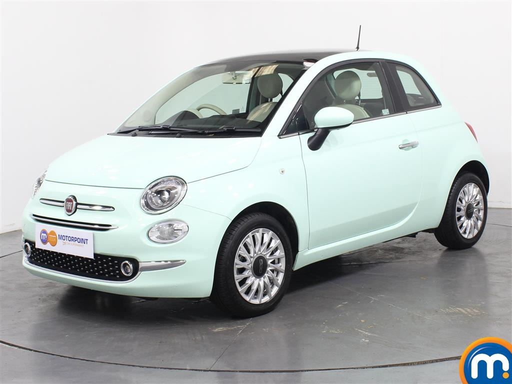 Fiat 500 Lounge - Stock Number (1039733) - Passenger side front corner