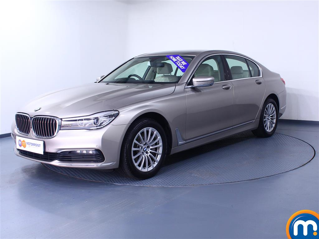 BMW 7 Series 730d xDrive 4dr Auto - Stock Number (1044024) - Passenger side front corner
