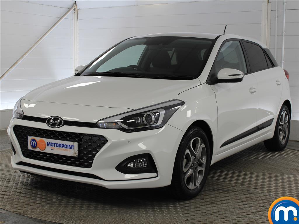 Hyundai I20 Premium Nav - Stock Number 1045616 Passenger side front corner