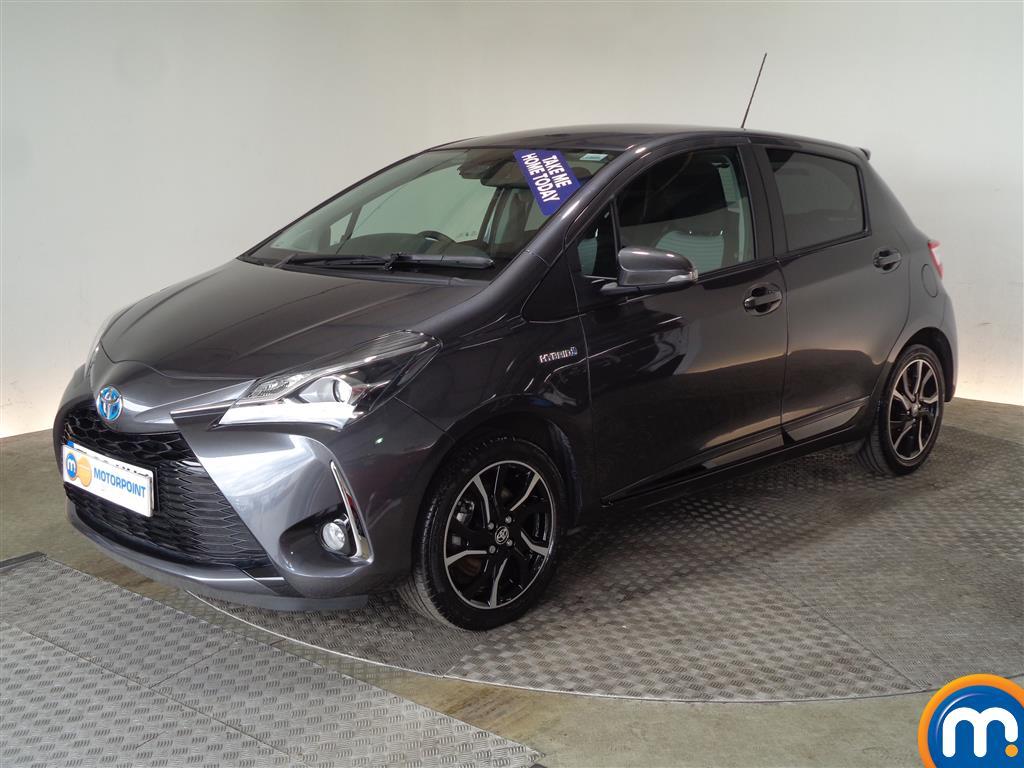 Toyota Yaris Design - Stock Number 1042202 Passenger side front corner