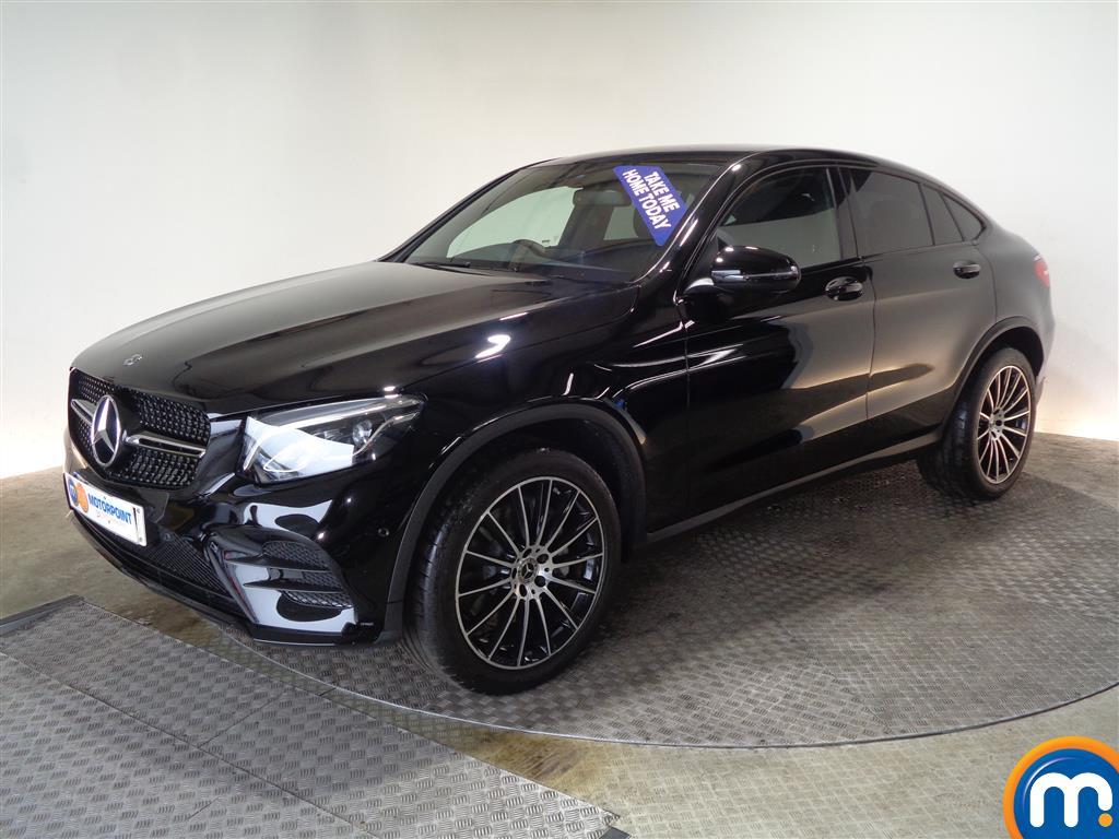 Mercedes-Benz Glc Coupe AMG Line - Stock Number 1039759 Passenger side front corner