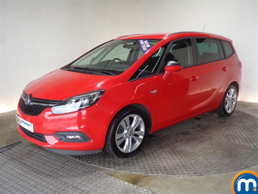 Vauxhall Zafira SRi - Stock Number (1036806) - Passenger side front corner