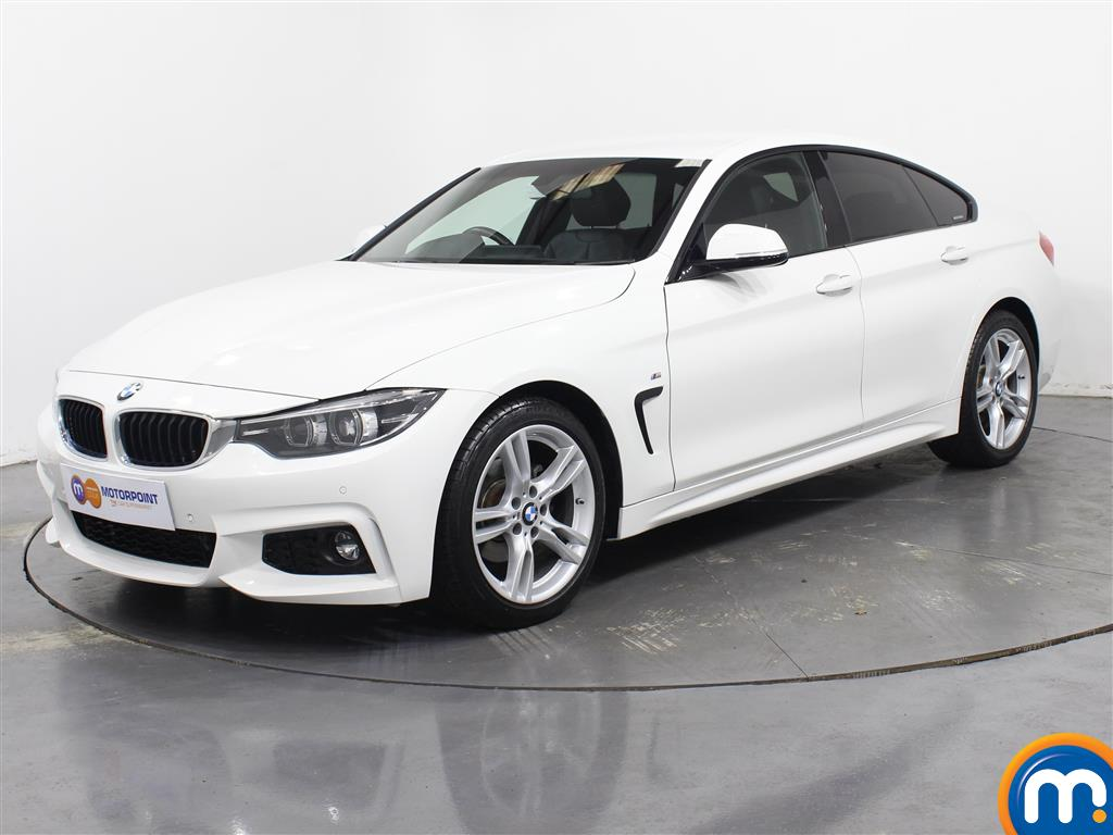 BMW 4 Series M Sport - Stock Number 1045423 Passenger side front corner