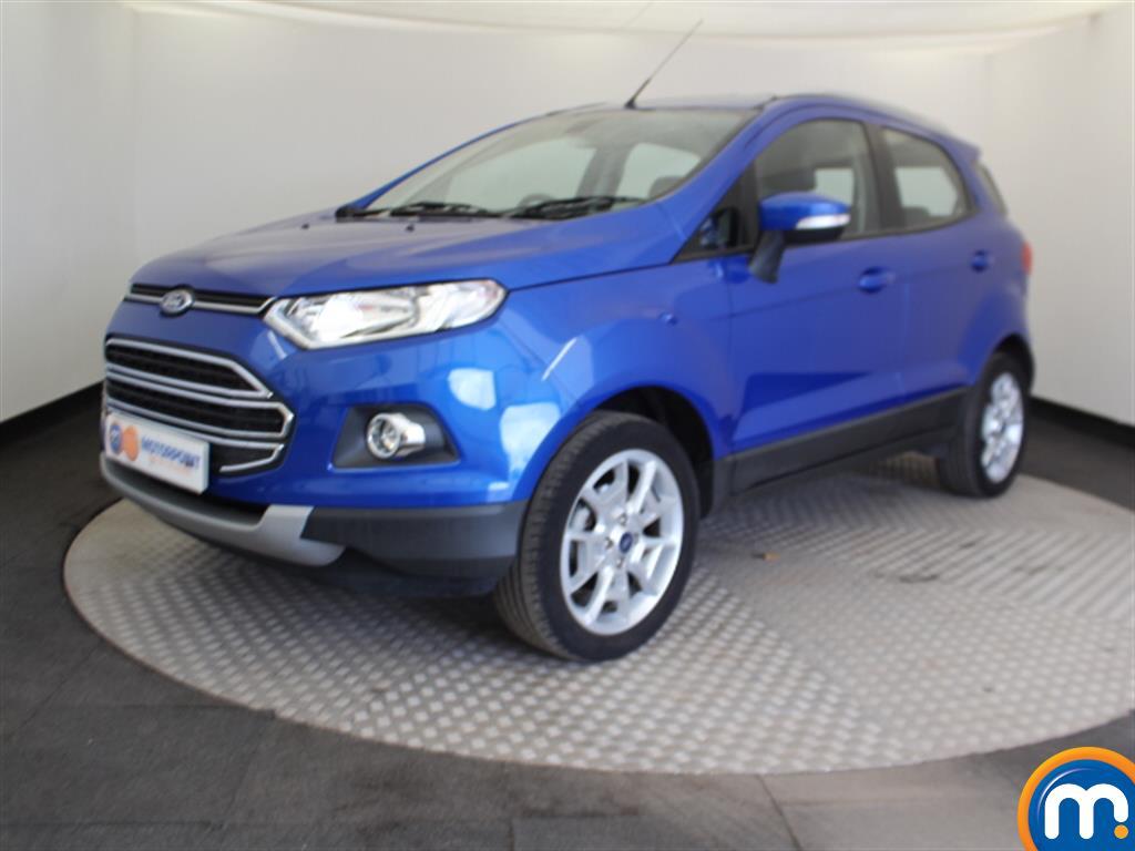 Ford Ecosport Titanium - Stock Number (1046404) - Passenger side front corner