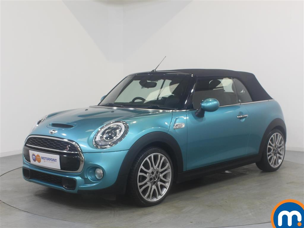 Mini Convertible Cooper S - Stock Number (1043285) - Passenger side front corner