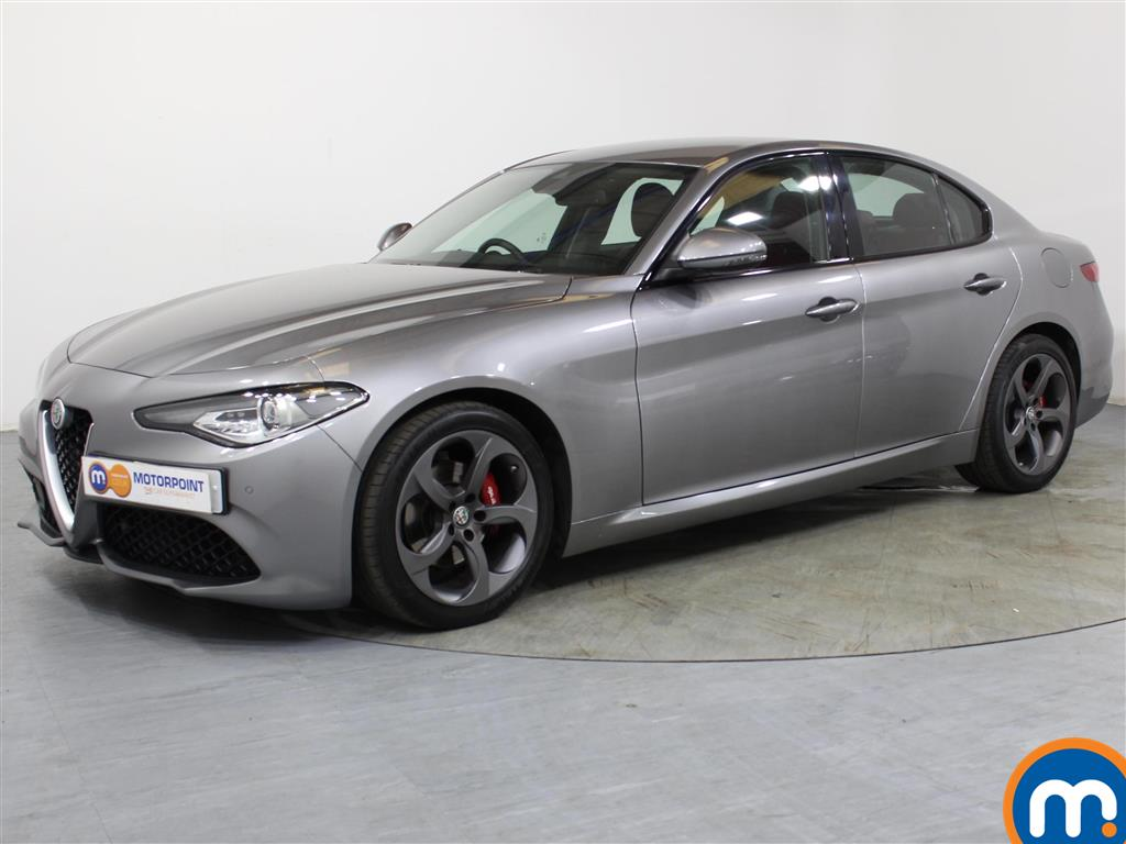Alfa Romeo Giulia Speciale - Stock Number 1039878 Passenger side front corner