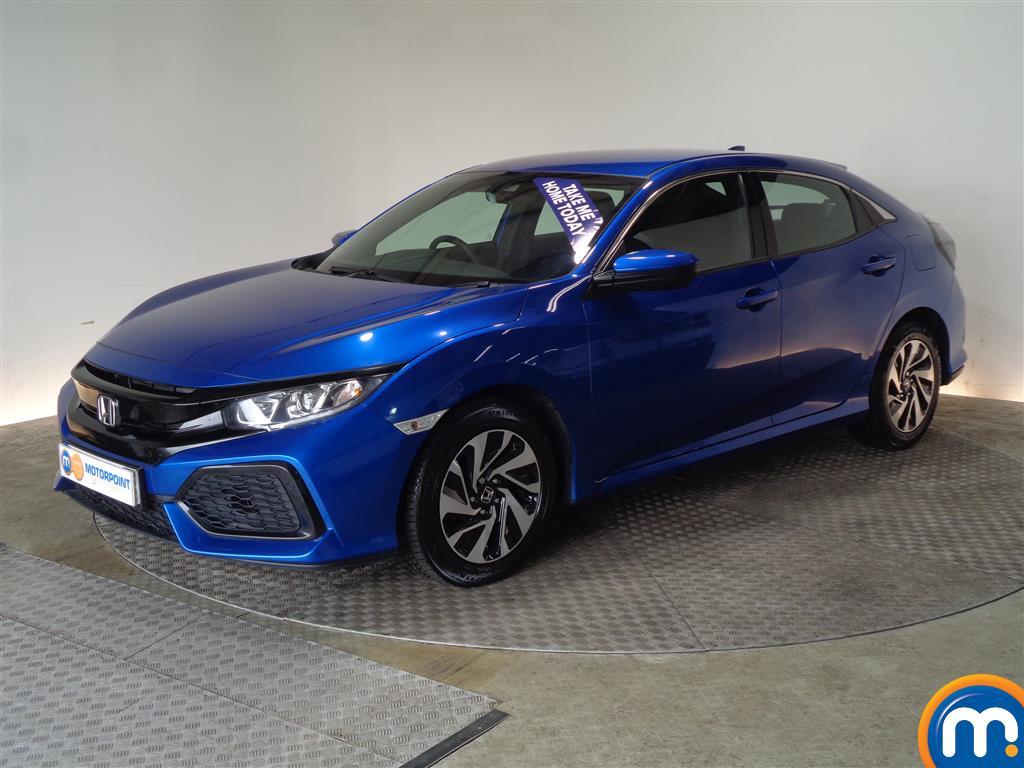 Honda Civic SE - Stock Number (1041527) - Passenger side front corner