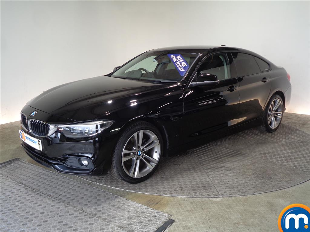 BMW 4 Series Sport - Stock Number (1045435) - Passenger side front corner