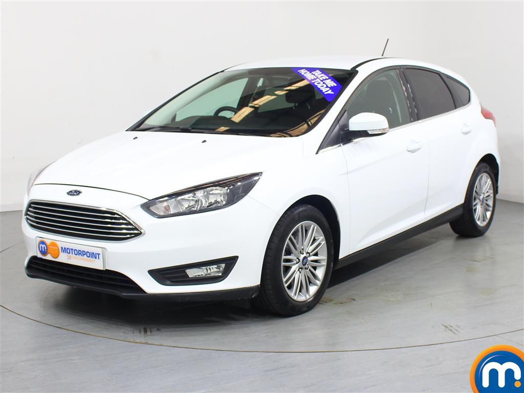 Ford Focus Zetec Edition - Stock Number 1033574 Passenger side front corner