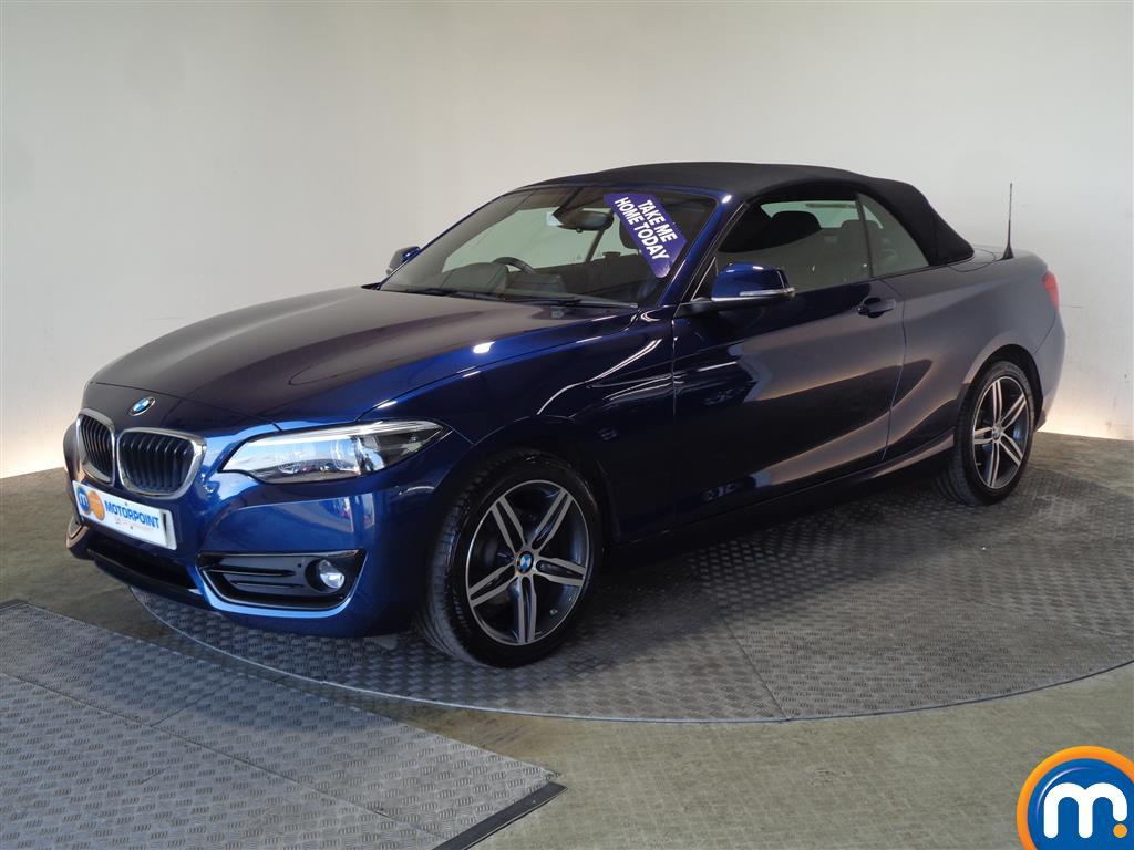 BMW 2 Series Sport - Stock Number 1046623 Passenger side front corner
