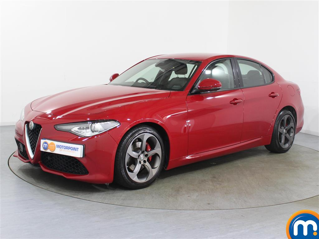 Alfa Romeo Giulia Speciale - Stock Number 1039750 Passenger side front corner