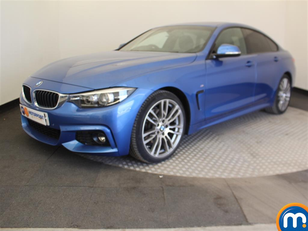 BMW 4 Series M Sport - Stock Number 1044674 Passenger side front corner