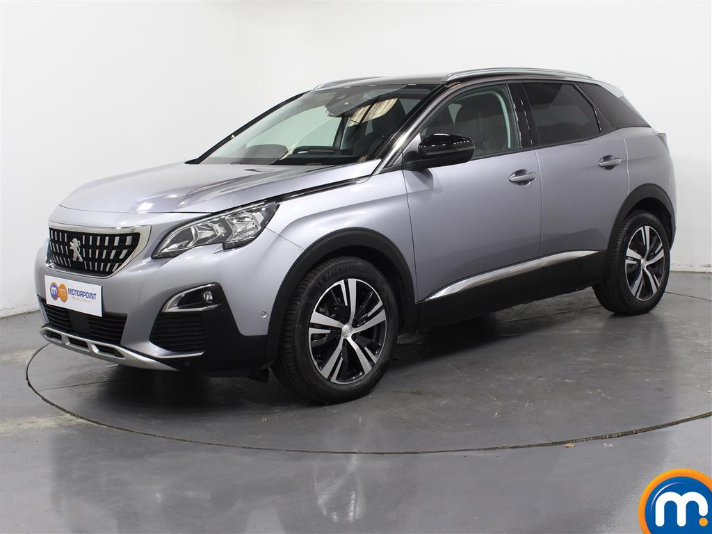 Peugeot 3008 Allure - Stock Number 1041087 Passenger side front corner
