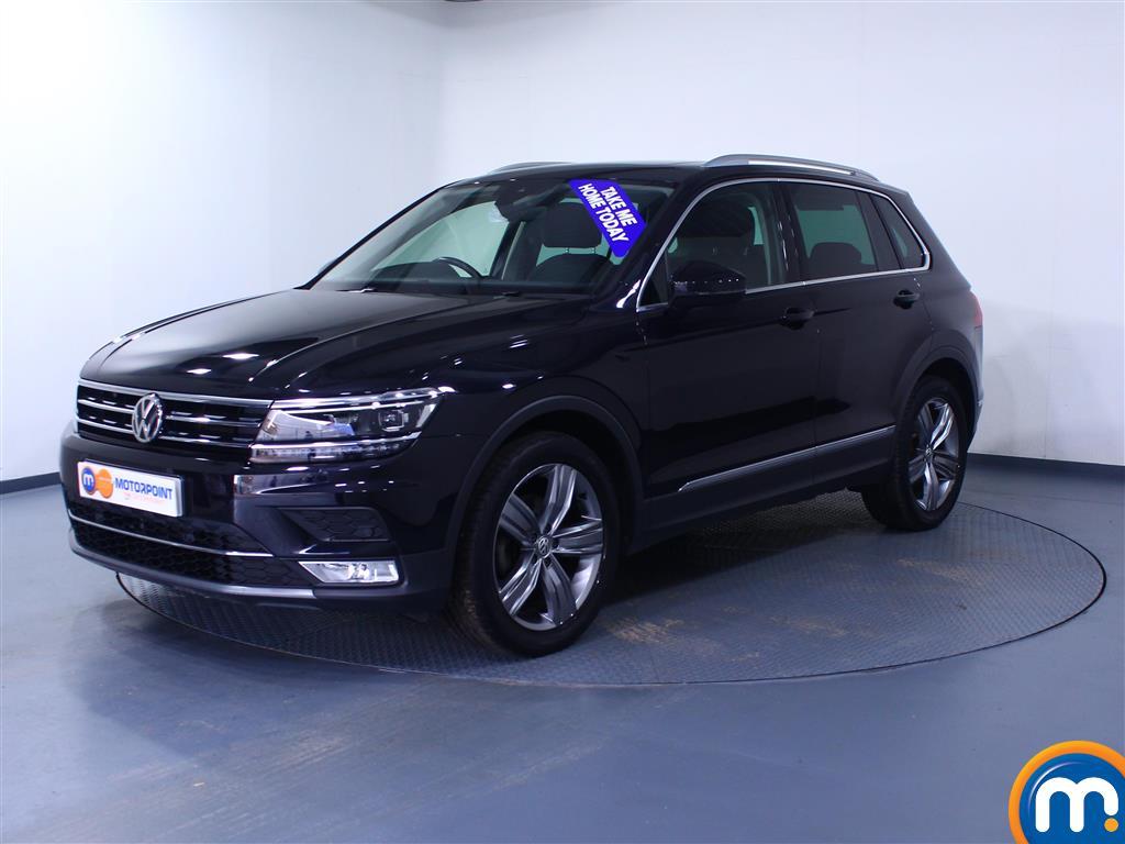 Volkswagen Tiguan SEL - Stock Number 1046874 Passenger side front corner