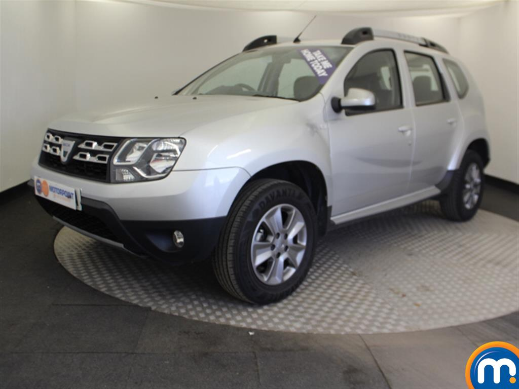 Dacia Duster Nav-Plus - Stock Number 1047560 Passenger side front corner