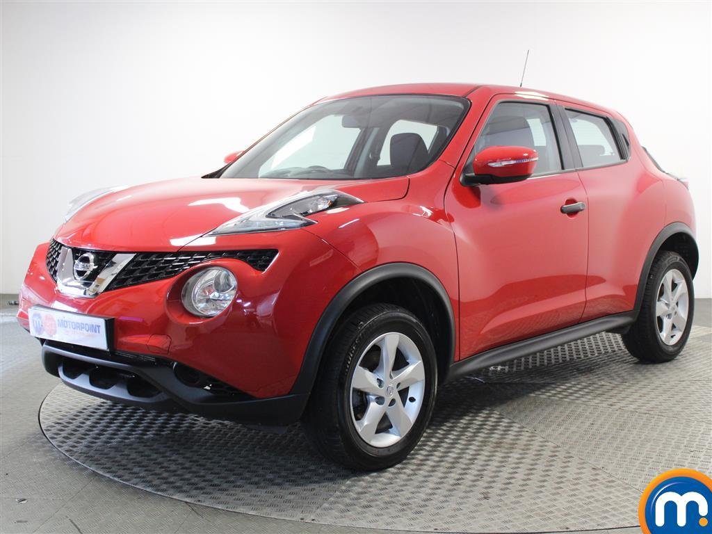 Nissan Juke Visia - Stock Number 1045111 Passenger side front corner