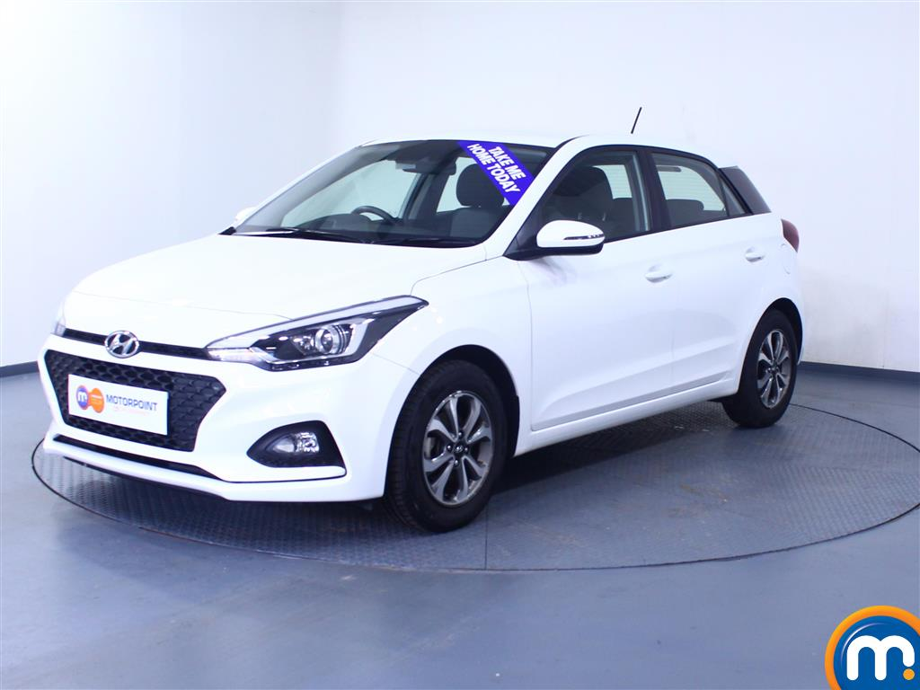 Hyundai I20 SE - Stock Number 1043259 Passenger side front corner