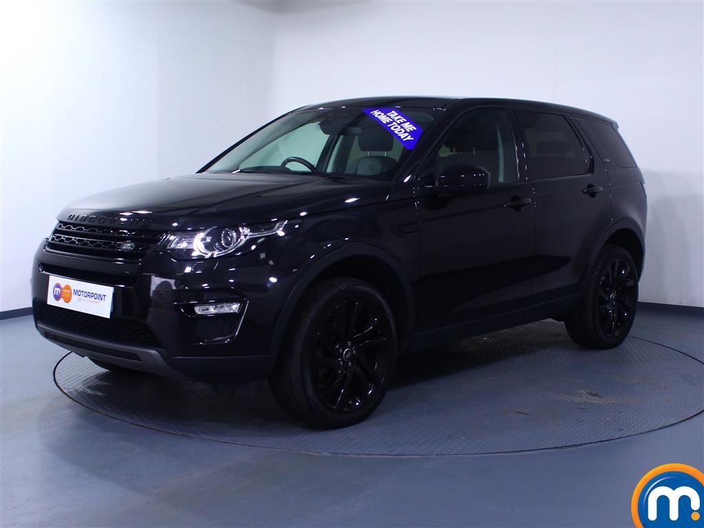 Land Rover Discovery Sport HSE Black - Stock Number 1049727 Passenger side front corner