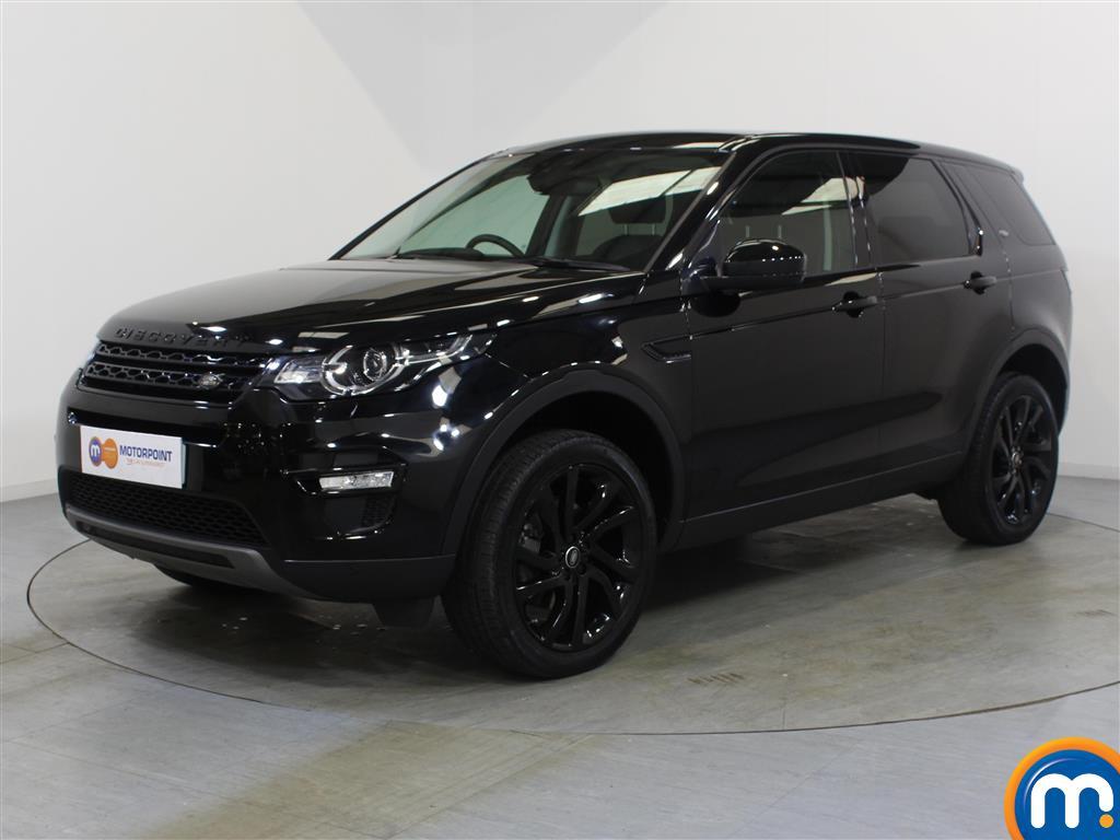 Land Rover Discovery Sport HSE Black - Stock Number 1048290 Passenger side front corner