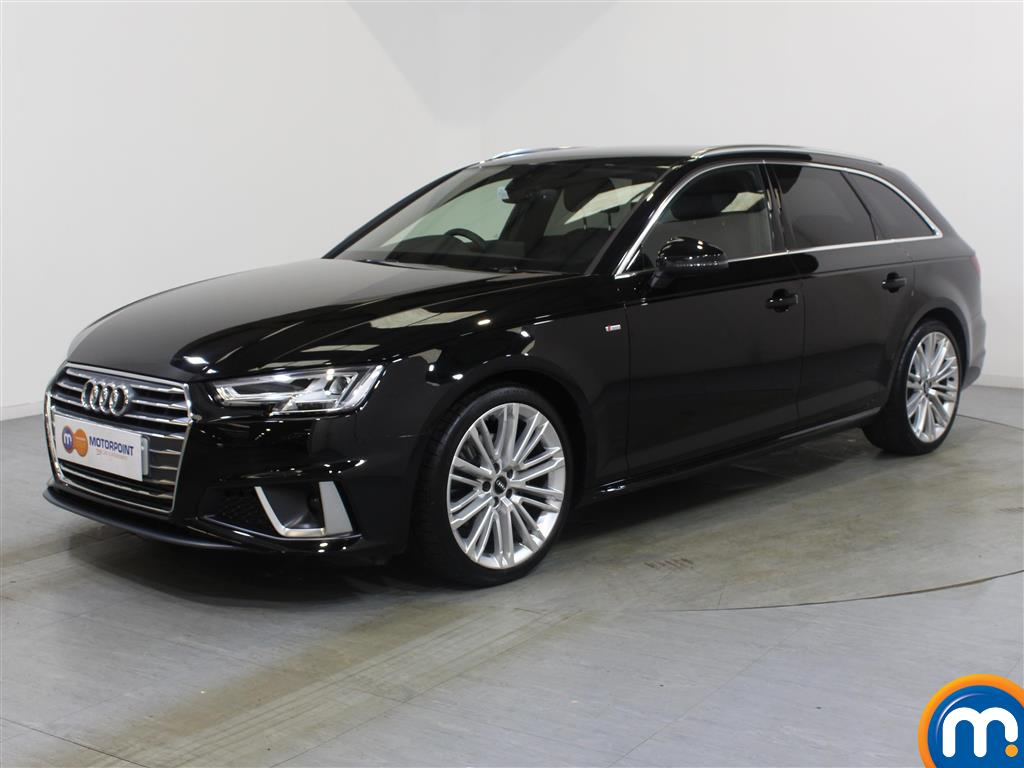 Audi A4 S Line - Stock Number 1048663 Passenger side front corner