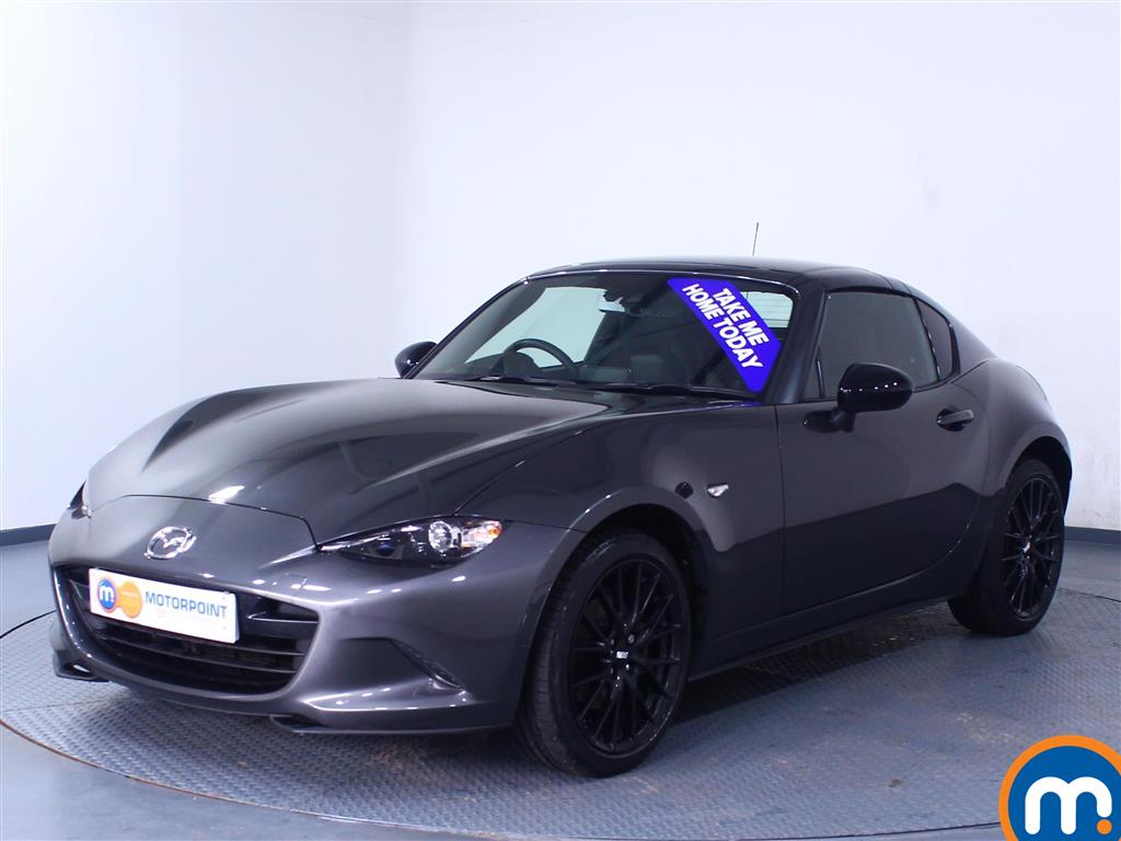 Mazda Mx-5 Launch Edition - Stock Number 1048904 Passenger side front corner