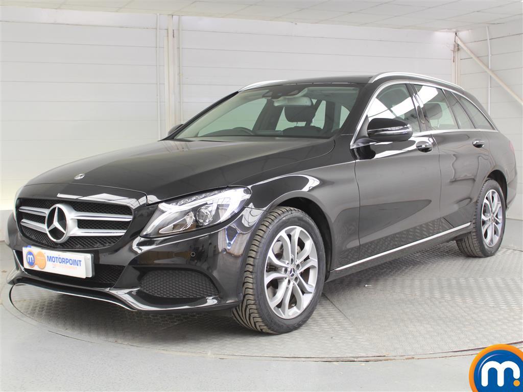 Mercedes-Benz C Class Sport - Stock Number 1048842 Passenger side front corner
