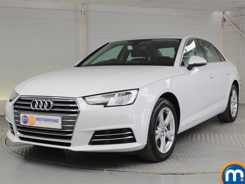 Audi A4 Sport - Stock Number 1044854 Passenger side front corner