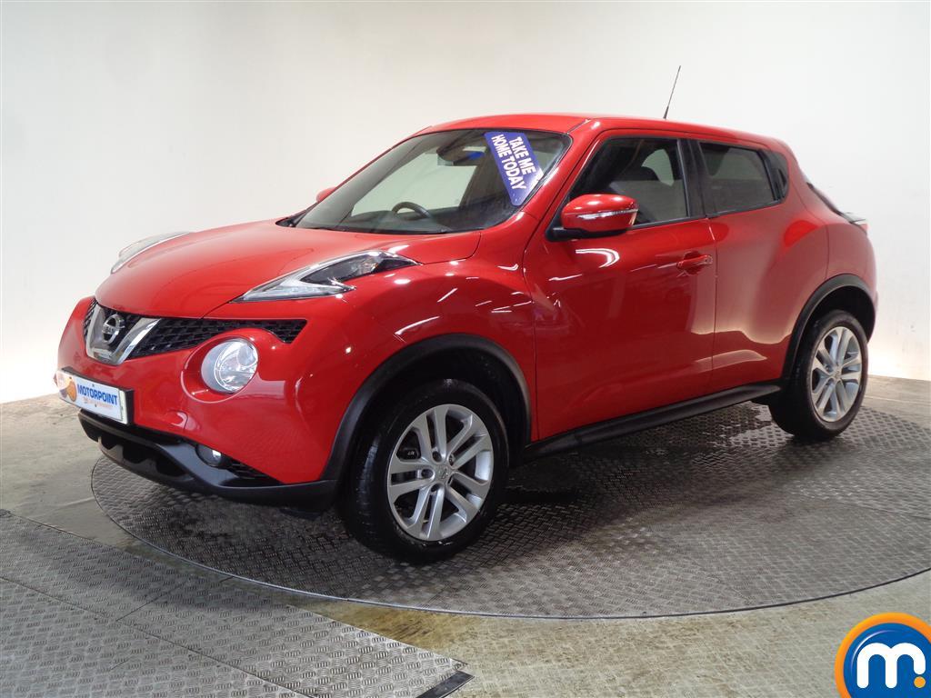 Nissan Juke N-Connecta - Stock Number 1045106 Passenger side front corner