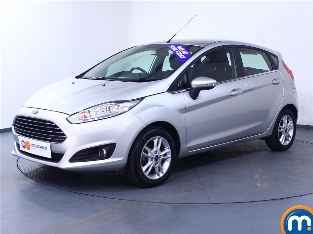 Ford Fiesta Zetec - Stock Number 1045508 Passenger side front corner