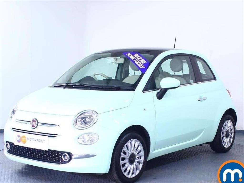 Fiat 500 Lounge - Stock Number 1045980 Passenger side front corner