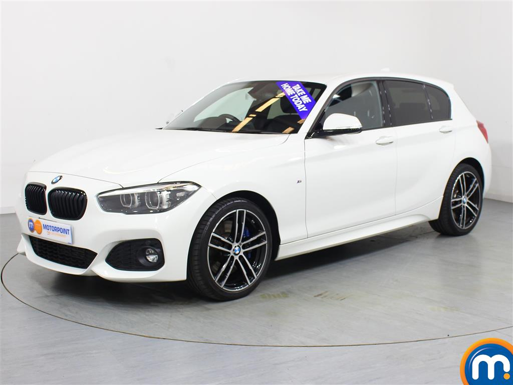 BMW 1 Series M Sport Shadow Edition - Stock Number 1048390 Passenger side front corner