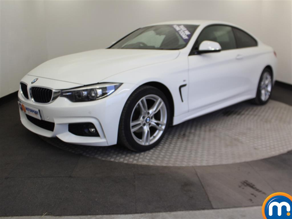 BMW 4 Series M Sport - Stock Number 1049147 Passenger side front corner
