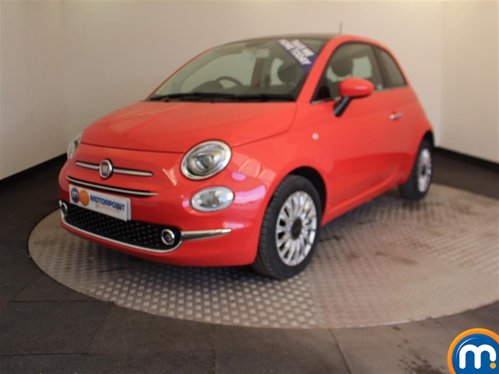 Fiat 500 Lounge - Stock Number 1048141 Passenger side front corner