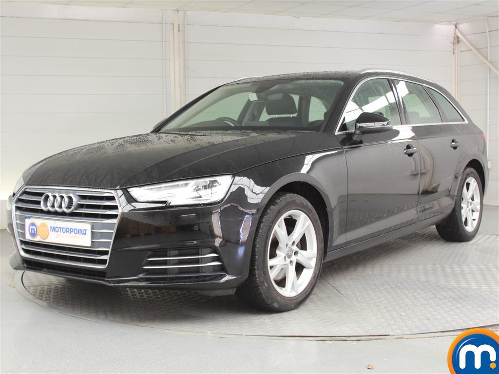 Audi A4 Sport - Stock Number 1046871 Passenger side front corner