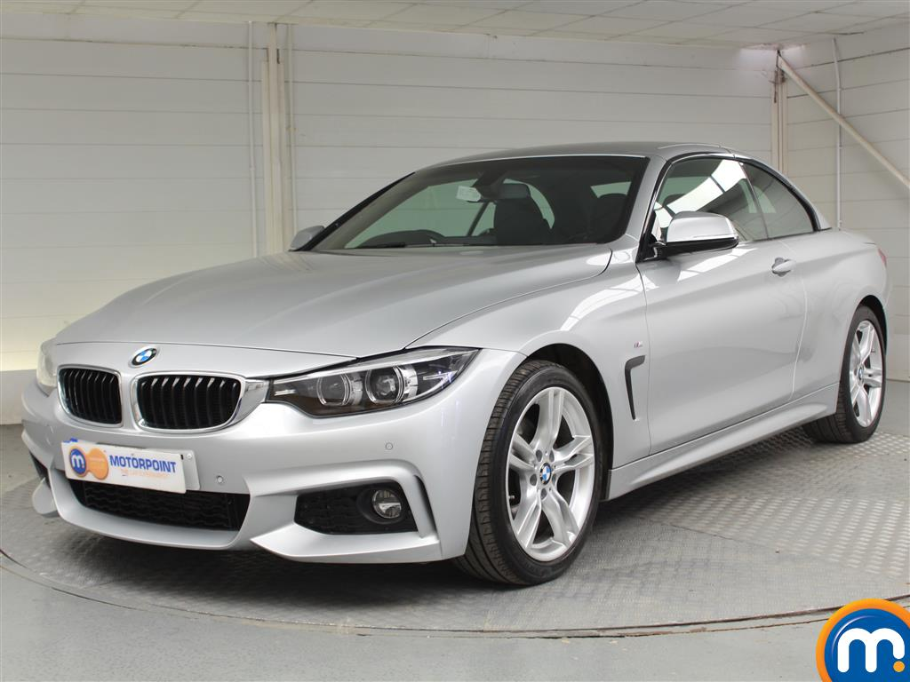 BMW 4 Series M Sport - Stock Number 1048323 Passenger side front corner