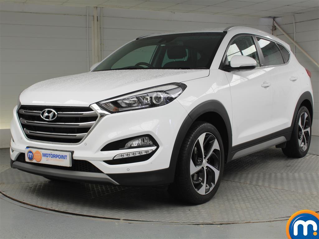 Hyundai Tucson Sport Edition - Stock Number 1048827 Passenger side front corner