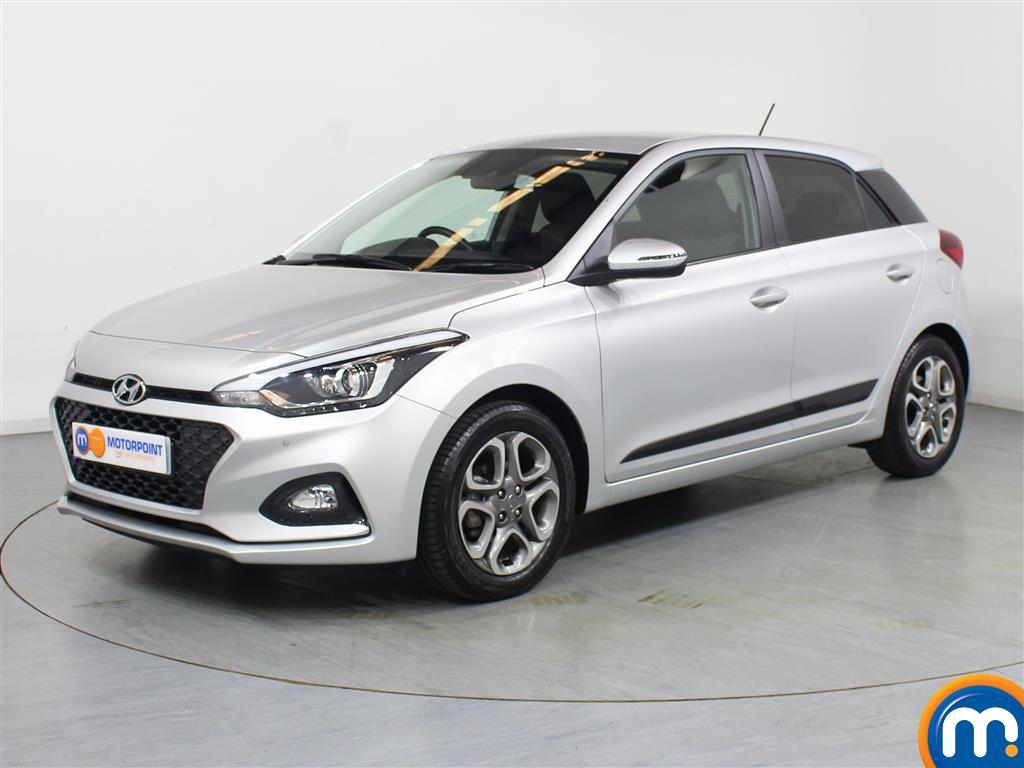Hyundai I20 Premium Nav - Stock Number 1045629 Passenger side front corner