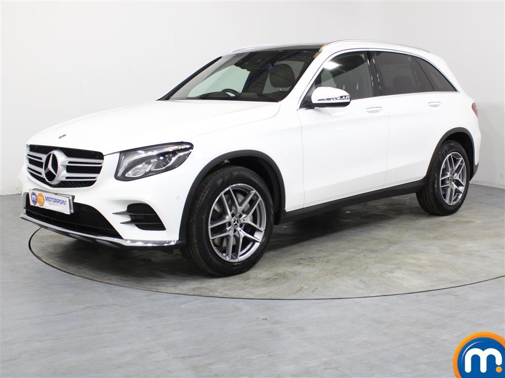 Mercedes-Benz GLC AMG Line - Stock Number 1048913 Passenger side front corner