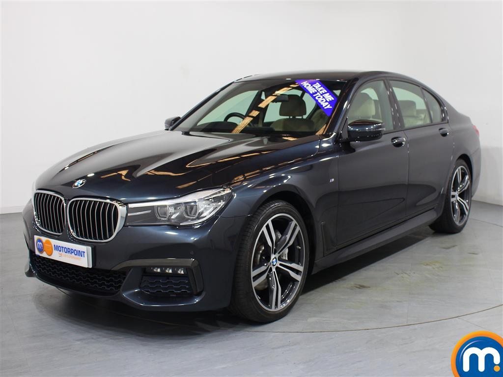 BMW 7 Series M Sport - Stock Number 1046949 Passenger side front corner